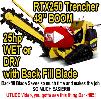 RTX250 Trencher