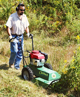 We rent brush cutters for tall grass, brush cutters for saplings, pond damns, fields and yards.