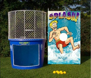 Tow-able Dunk Tank or Dunking Booth