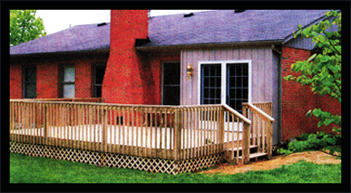 We have been Building decks and fences and lattice boarding  with awesome workmanship.